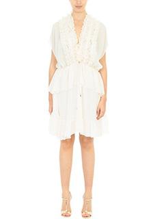 Givenchy-Vestito in seta skin