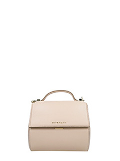 Givenchy-Borsa Pandora Box Chain in pelle nude