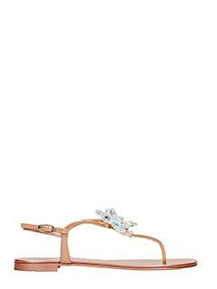 Giuseppe Zanotti-Rock 10 rose-pink patent leather flats