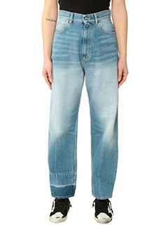 Golden Goose Deluxe Brand-Jeans Kimy in denim azzurro