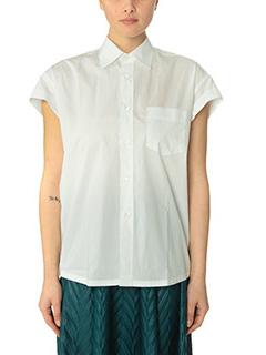 Golden Goose Deluxe Brand-Camicia Victoria in cotone bianco