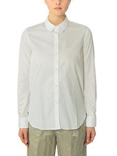 Golden Goose Deluxe Brand-Camicia Thaiti in cotone bianco