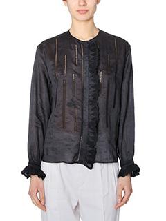 Isabel Marant-Amos black viscose shirt