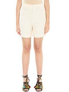 Chlo�-Shorts Classic in cr�pe rosa
