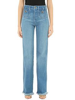 Chloé-Jeans in denimazzurro