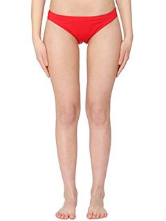 Rick Owens-Slip Bikini in lycra rossa