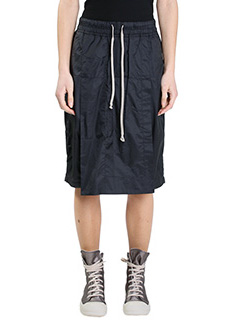 Rick Owens DRKSHDW-Savage shorts black nylon shorts