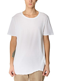 Valentino-T-Shirt Basic in jersey bianco