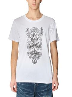 Balmain-T-Shirt Maya in cotone bianco
