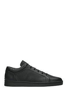 Balenciaga-Urban  black leather sneakers