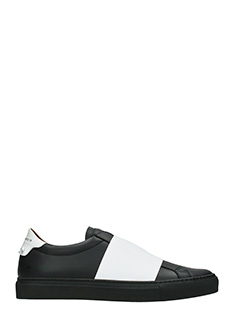 Givenchy-Sneakers Skate in pelle nera bianca
