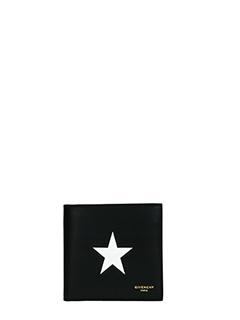 Givenchy-Portafogli Bill folded  in pelle nera