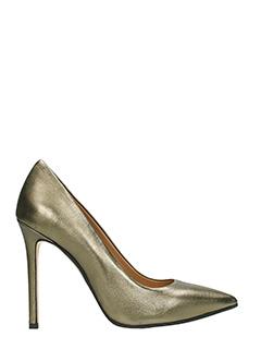 Marc Ellis-silver leather pumps