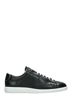 Maison Margiela-Sneakers Ace in pelle nera