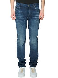Maison Margiela-Jeans in denim blue