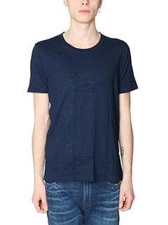 Maison Margiela-Set 3 TShirt in cotone blue