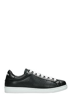 Dsquared 2-Sneakers Santa Monica in pelle nera