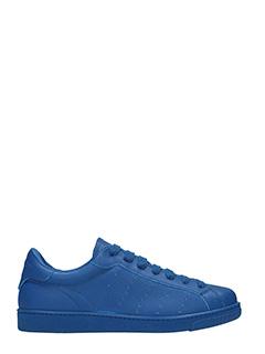 Dsquared 2-Sneakers Santa Monica in pelle blue