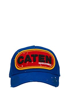 Dsquared 2-Cappello in cotone blue