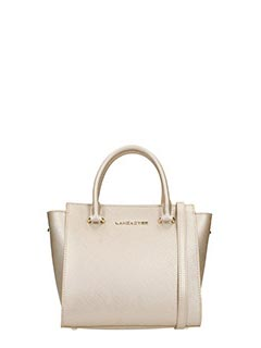 Lancaster-beige leather bag