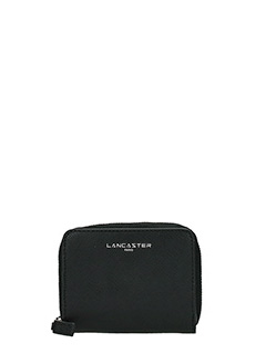 Lancaster-Adele black leather wallet
