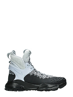 Nike Lab ACG-Sneakers Zoom Tallac Flyknit in tessuto e gomma nera grigia