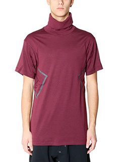 Nike Lab ACG-T-Shirt SS Top in cotone bordeaux