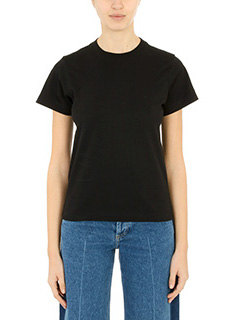 Balenciaga-T-Shirt Basic in cotone nero