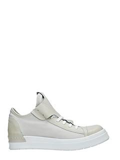 Cinzia Araia-Sneakers basse  in pelle e camoscio ghiaccio