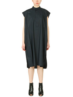Balenciaga-blue cotton dress