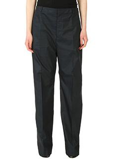 Balenciaga-Pantaloni  in cotone nero