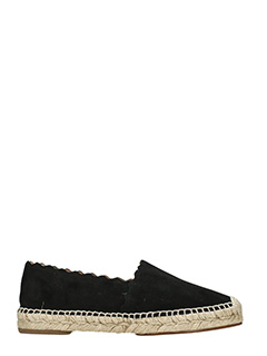 Chlo�-Espadrillas Lauren in suede nero