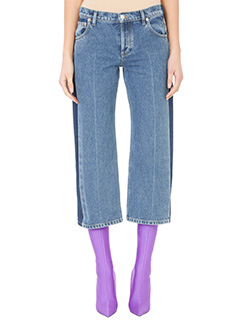 Balenciaga-Jeans Rockabilly in denim blue