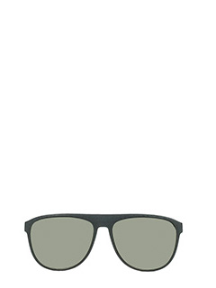 Mykita-Turbo  black PVC sunglasses
