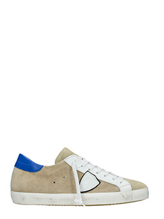 Philippe Model-Sneakers Classic in camoscio beige