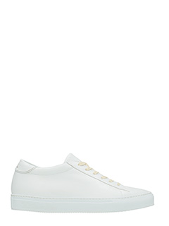 Philippe Model-Sneakers Avenir in pelle bianca