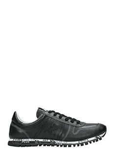 Premiata-Sneakers Simon in pelle nera
