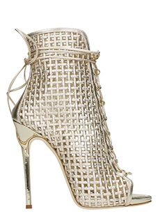 Giuseppe Zanotti-Colline 110crd gold leather ankle boots