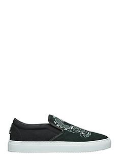 Marcelo Burlon-Sneakers Graziana in cotone nero