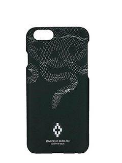 Marcelo Burlon-Cover  Rodrigo IPhone 6  in plastica nera
