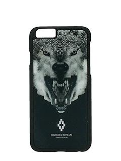 Marcelo Burlon-Cover Marcos IPhone 6  in plastica nera