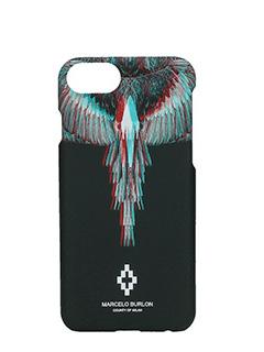 Marcelo Burlon-Cover Salvador  IPhone 7  in plastica nera
