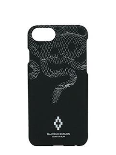 Marcelo Burlon-Cover  Rodrigo IPhone 7  in plastica nera