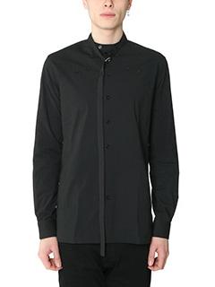 Raf Simons-Camicia  in cotone nero