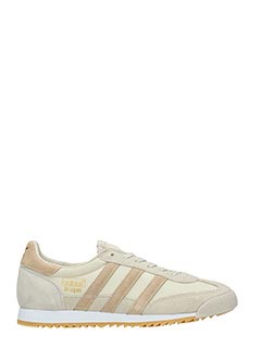 Adidas-Sneakers Dragon On in camoscio e tessuto beige