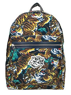 Kenzo-Zaino Flying Tiger  in nylon multicolor