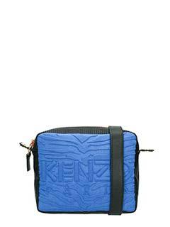 Kenzo-Konbo Camera Bag in nylon blue