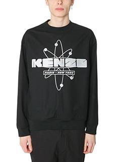 Kenzo-Felpa Nasa in cotone nero