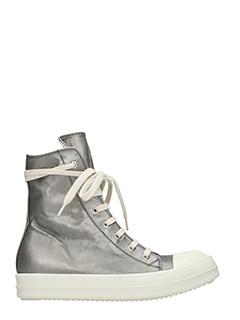 Rick Owens DRKSHDW-Sneakers  in pelle dark dust