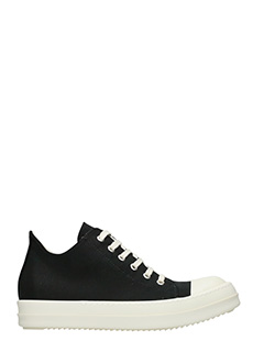Rick Owens DRKSHDW-Low sneaker black nylon sneakers
